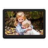 Digital Photo Frame 10 Inch NAPATEK Digital Picture Frame 1920x1080 High Resolution 16:9 FHD IPS Screen Image...