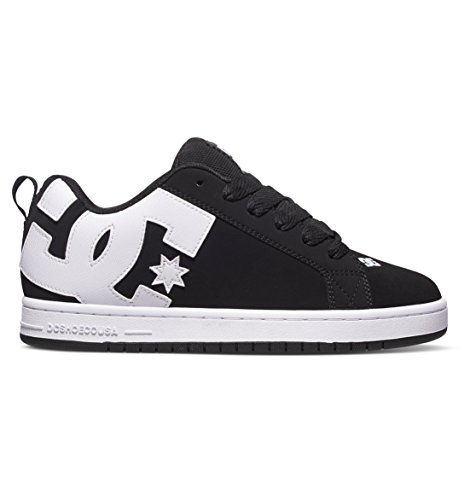 DC Shoes Court Graffik Shoe, Zapatillas de Skateboarding para Hombre
