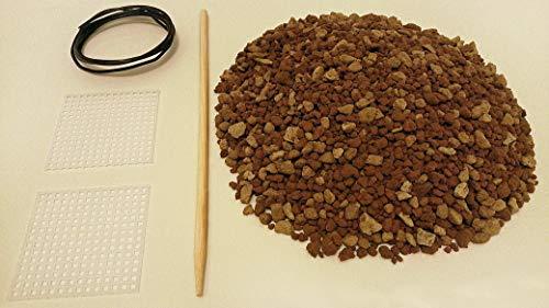 Kit de replantación de bonsái con suelo de 1 l – Akadama, piedra pómez, rocas de lava