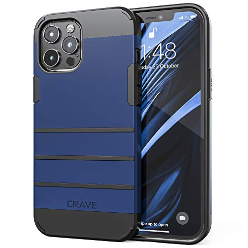 Crave Strong Guard Schutzhülle für iPhone 6,7 Zoll (17 cm) 2020, Marineblau