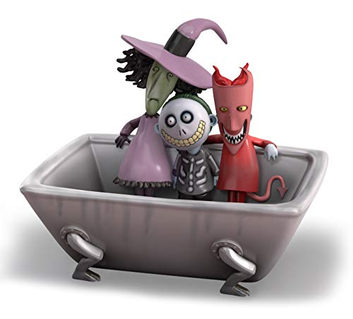 The Nightmare Before Christmas Bathroom Soap Dish Exclusively from The Bradford Exchange | Disney Lock Shock and Barrel Officially Authorized Bath Ensemble Collection 'Good Clean Fun' Soap Holder