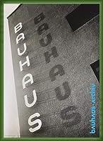 ポスター バウハウス schriftzug am bauhaus dessau 額装品 ウッドベーシックフレーム(グリーン)