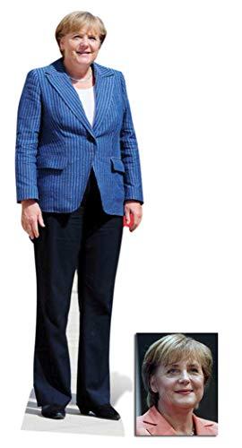 BundleZ-4-FanZ Fan Packs Angela Merkel Lebensgrosse Pappfiguren/Stehplatzinhaber/Aufsteller - Enthält 8X10 (25X20Cm) starfoto