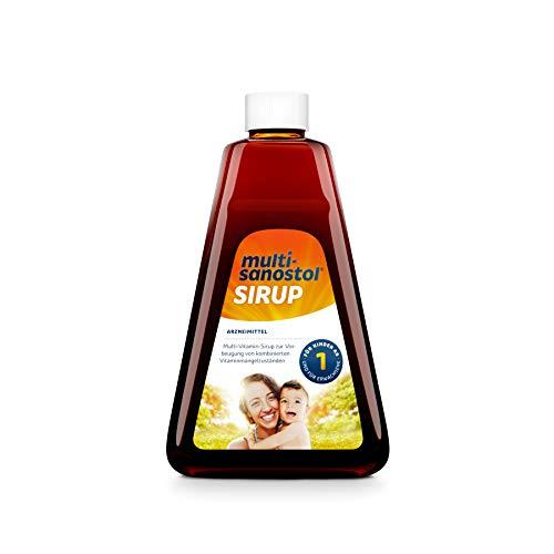 Multi-Sanostol Sirup: Multivitaminpräparat für Kinder ab 1 Jahr zur Vorbeugung von kombinierten Vitaminmangelzuständen, 300g