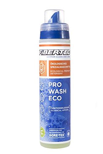 Fibertec Pro Wash Eco 250ml | Waschmittel für Funktionsbekleidung | ökologisches Spezialwaschmittel