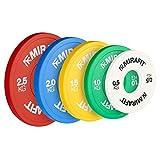 Mirafit IWF Coloured Fractional Weight Change Plates - White - 2 x 0.5kg