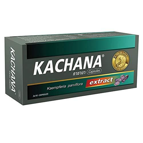 KACHANA, Black Ginger Energy Pill, Boosts Blood Flow & Circulation | Amplifies Energy, Size, Strength & Endurance| (30 Pills)
