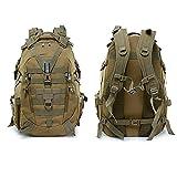 LEIKEI Militärrucksack Army Heavy Duty Tactical Backpack Laptop-Rucksack Zum Wandern, Radfahren, Camping, Angeln, Jagen,I-25L