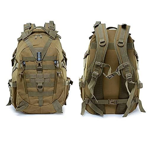 LEIKEI Militärrucksack Army Heavy Duty Tactical Backpack Laptop-Rucksack Zum Wandern, Radfahren, Camping, Angeln, Jagen,I-25L*