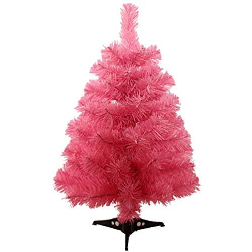Amosfun árbol de Navidad Artificial de 60 cm con Soporte de plástico para Adornos de Festival de Navidad decoración para Sala de Oficina