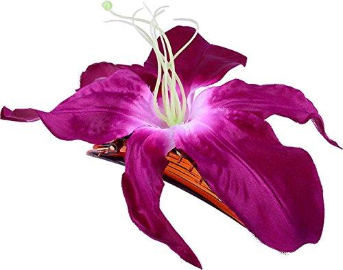 Unbekannt Große PIN UP Tiki LILIE Flower Haarspange/Haarblüte Rockabilly