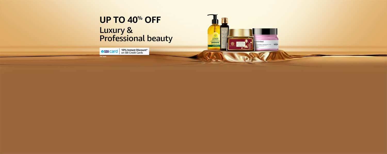 Amazon Offers Today-Coupons-Promo Codes - Avail Up To 40% off + Additional 10% off on Luxury & Professional Beauty