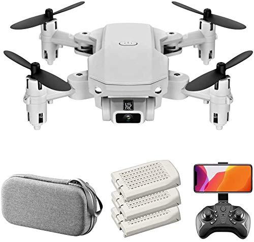 Goolsky Mini Drone Quadcopter 4K Cámara 360deg 13mins Tiempo de vuelo;Flip-6 Axis Gyro gesto Photo vídeo vuelo Track Altitud Hold sin cabeza de control remoto aviones no tripulados for adultos de los