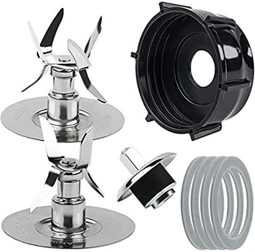 LLXXD Piezas de Repuesto para Cuchillas de Hielo de licuadora Oster &Osterizer 4980 4961 Kit de Pasador Deflector de espárrago de Acoplamiento de Junta Piezas de Repuesto