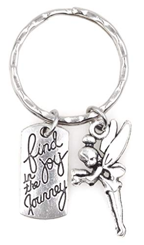 It's All About...You! Find Joy in The Journey Pixie Fairy Keychain 113E
