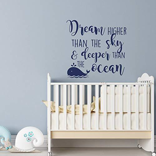 Baby Kindergarten vinyl wall decals wall quote for children wall stickers58x57cm