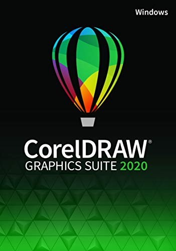 CorelDRAW Graphics Suite 2020 | Perpetual Windows | 1 Dispositivo | PC | Codice d'attivazione per PC via email