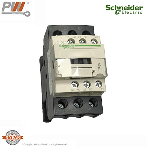 Schneider LC1D25B7C Contactor All Models PWR and PWRC (Except PWR1, PWRC1)