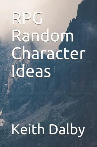 RPG Random Character Ideas