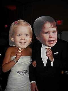 Single Pack Build A Head Wedding Big Heads Cardboard Face Cutout