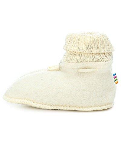 Joha Babyschuhe, 100% Wolle, 20-21, Weiß