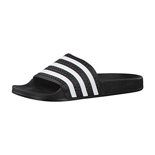 Adidas Adilette 280647 Hombres Zapatos de Baño, Negro (Cblack/White), 44 1/2 EU
