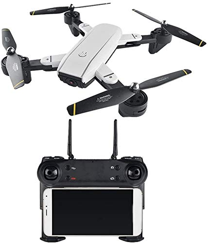 SG700 FPV Opvouwbare RC Drone met 720P HD WiFi 2.0MP Dual Camera Live Video - Headless Mode, One Key Return, Optical Flow, Foldable Arms, Gesture Fotograferen - White LMMS