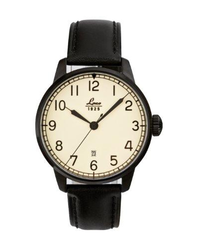 Laco Casablanca Reloj para Hombre Analógico de Automático con Brazalete de Piel de Vaca 861776