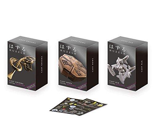 Cast Huzzle Puzzle Set No.7 Enigma,News,Elk SG 6 und Cast Huzzle Produktflyer - No.7