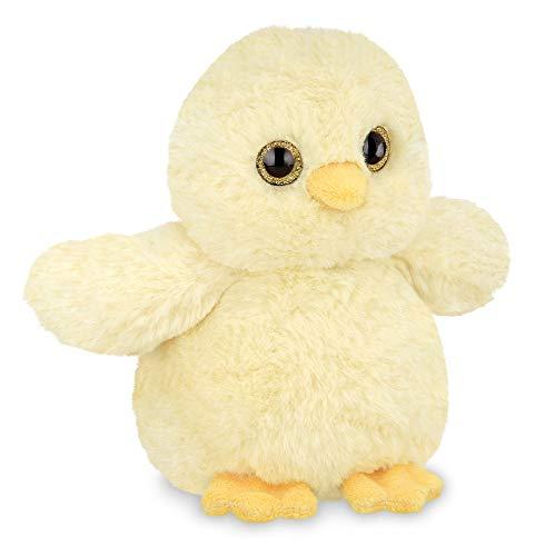 Bearington Lil' Peep Small Plush Yellow Chick Stuffed Animal, 6 inches