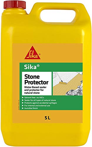 3 x Stone Protector - Water Based Sealer and Protector For Natural Stone, Clear, 5 Litre