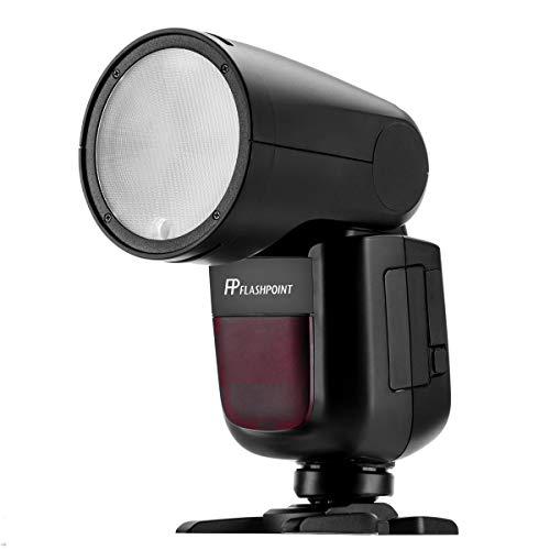 Flashpoint Zoom Li-on X R2 TTL On-Camera Round Flash Speedlight For Nikon (Godox V1)