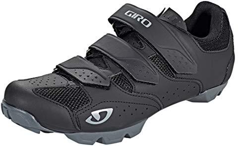 Giro Carbide R II Mens Mountain Cycling Shoe − 45, Black/Charcoal (2020)