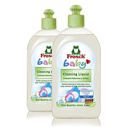 Frosch Baby Cleaning Liquid, for Toys, Dishes, and More 16.9 oz (Pack of 2)