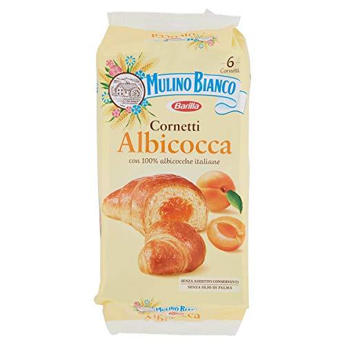 Mulino Bianco Cornetti con Confettura di Albicocche, 300g