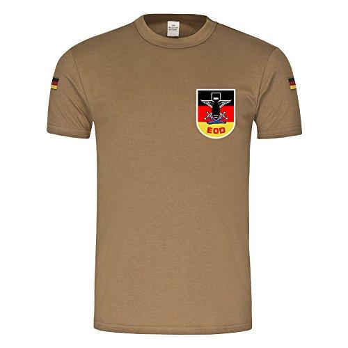 Copytec BW Tropen EOD Bundeswehr Pionier Kampfmittelbeseitigung Explosive Ordnance Disposal #21649, Farbe:Khaki, Größe:Herren L