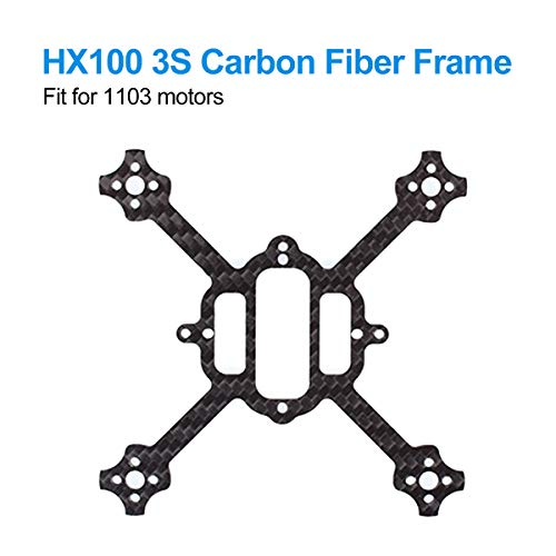 BETAFPV HX100 Mini FPV Racing Toothpick Frame of Carbon Fiber 100mm for HX100 3S Brushless Racing Whoop Drone Toothpick Carbon Fiber Quadcopter