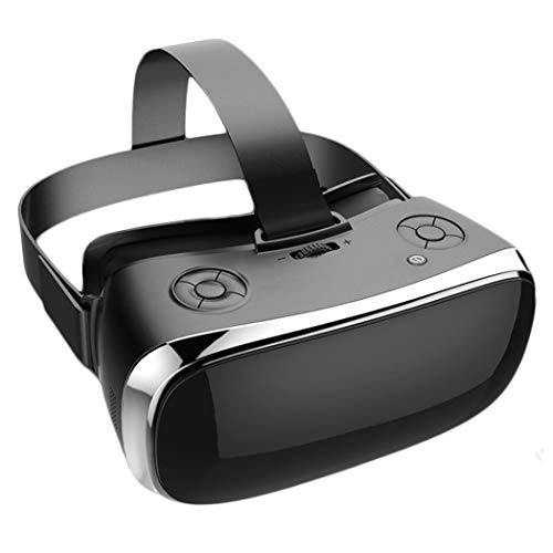 JCSW VR Headsets, Bluetooth Connection VR All-In-One Screen of 5.5 Inches, 3D virtual reality Headset for Games, movies, travel, play, etc. O088XB