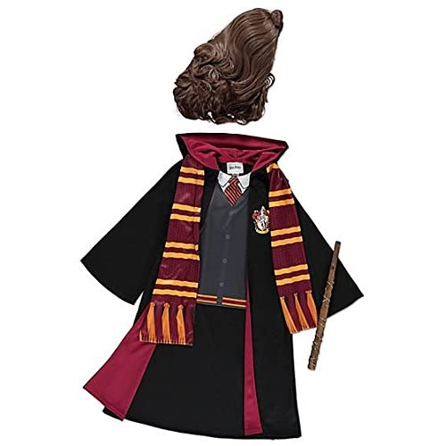 aadc033a60 George Harry Potter Hermione Granger Girls Fancy Dress Outfit Book Day  Costume (9-10