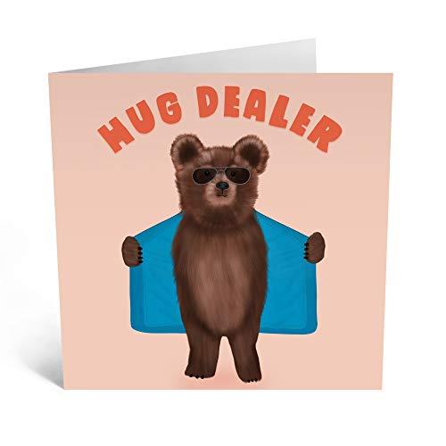 Central 23 - Divertida tarjeta de cumpleaños para papá – 'abrazo distribuidor'...