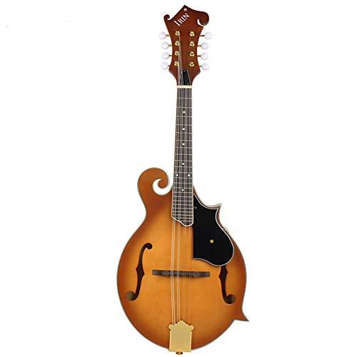 BLKykll 8-String Mandoline, Gefühl Handmade F Stil Mandoline F40 westliches Instrument, Romantische Ständchen