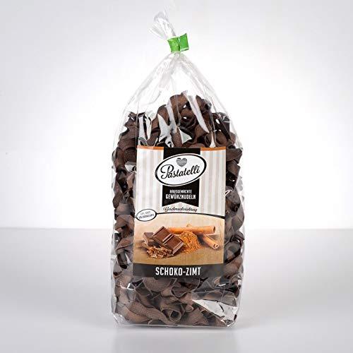 Pastatelli Zimt Schokoladennudeln - Zimt Gewürz Nudeln - Zimt Milchnudeln mit Schokolade - Zimt Nudeln mit Schoko Vegan - Zimt Schokolade Pasta