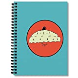 Lined Spiral Notebook Doris Planner With Composition A Notepad Beanie Journal Journaling Notebooks Blank Hand Writing Paper Graph Paper 5x5