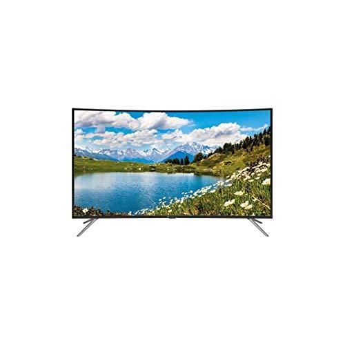 Continental Edison TV LED Incurvee 4 K Uhd 55 140 Cm - Resolution 3840x2160-3X Hdmi, 2X USB - Port Optique