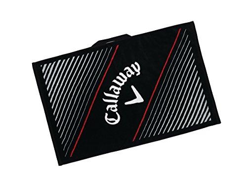 Callaway Tour Towels Toalla de Golf, Unisex Adulto, Negro, Talla Única