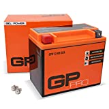 GP-PRO GTX12-BS 12V 10Ah GEL-Batterie (Kompatibel...
