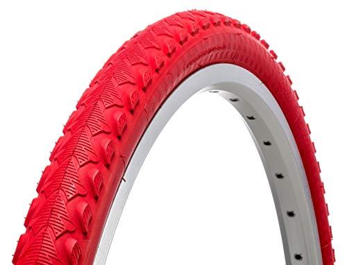 AMIGO Ortem Sprint - Neumático exterior (26 x 1,75 mm, 47-559), color rojo