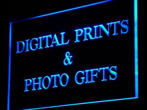 ADV PRO Enseigne Lumineuse i855-b Digital Prints Photo Gifts Shop Neon Light Sign
