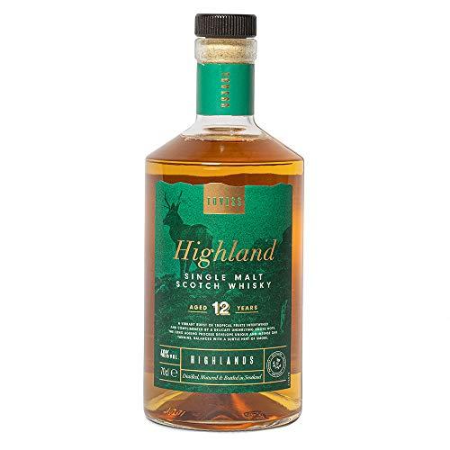 Tovess Highland Single Malt Scotch Whisky invecchiato 12 anni, 70cl