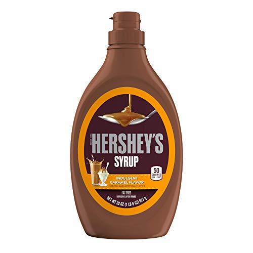 Hershey  Syrup in Caramel Flavor - Karamellsirup, 1 Stück (623g Flasche)